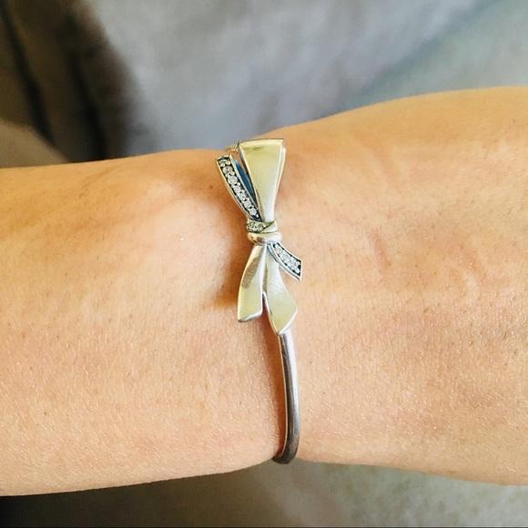 0243449df Authentic Pandora Brilliant Bow Bracelet. M_5bd8ee4304e33d3ef4622127